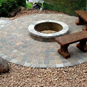 Fire Pit In Clarence, NY