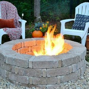 Fire Pit In East Aurora, NY